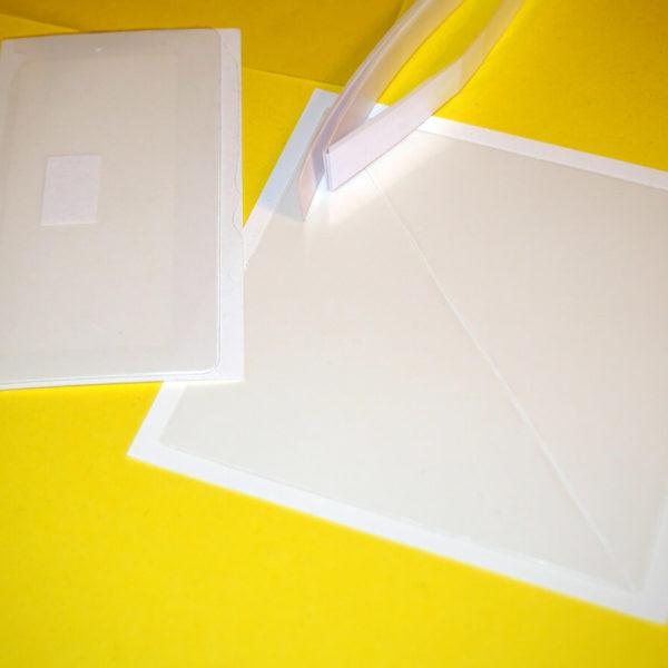 Set – samolepící kapsy + lepítka