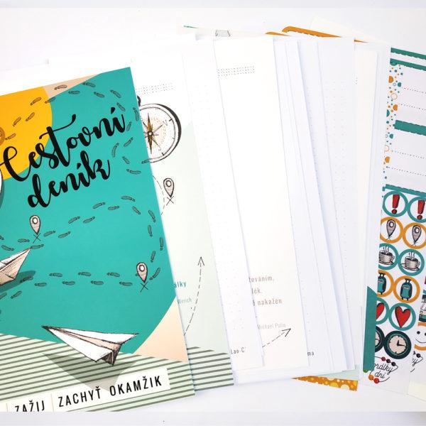 Cestovní deník – nesvázaná náplň